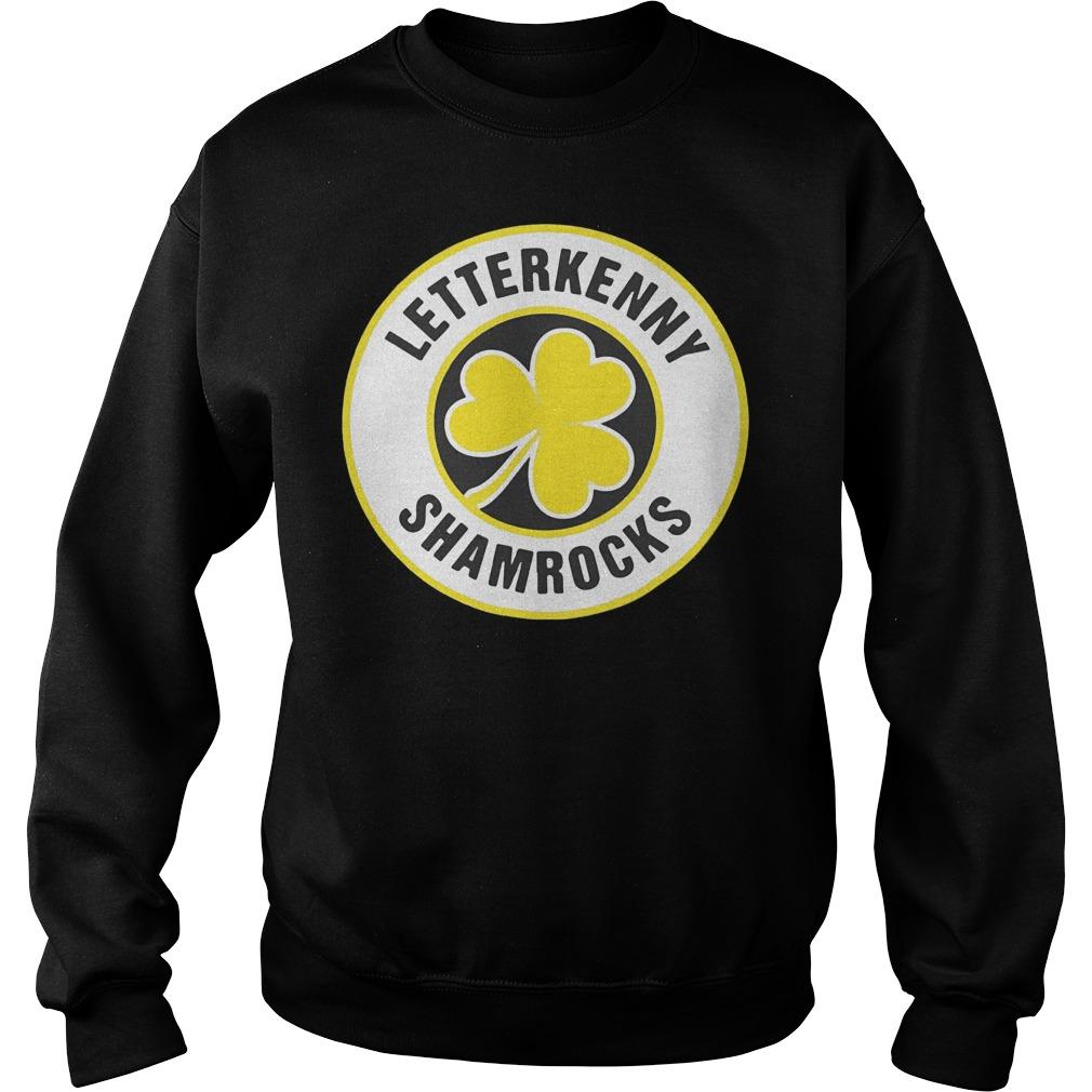 Official Letterkenny Shamrocks Retro St Patricks shirt Sweatshirt Unisex