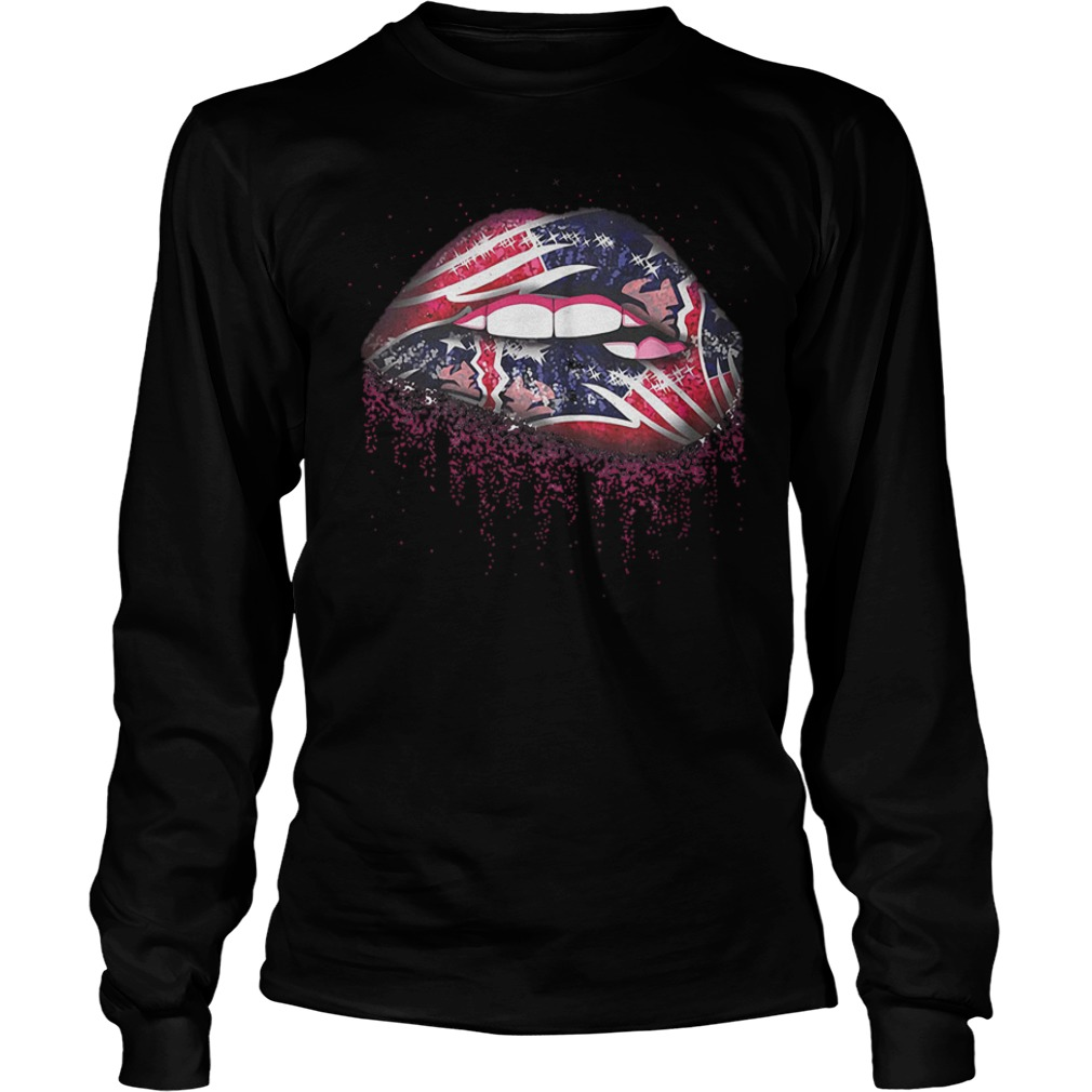 Official New England Patriots Sweat Lips Shirt Longsleeve Tee Unisex.jpg