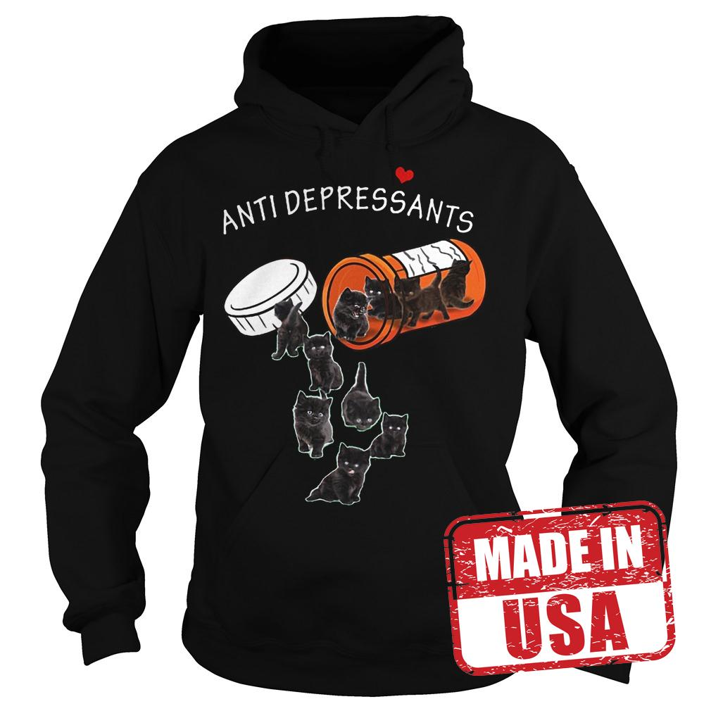 Original Cat Pill Anti depressants Shirt Hoodie