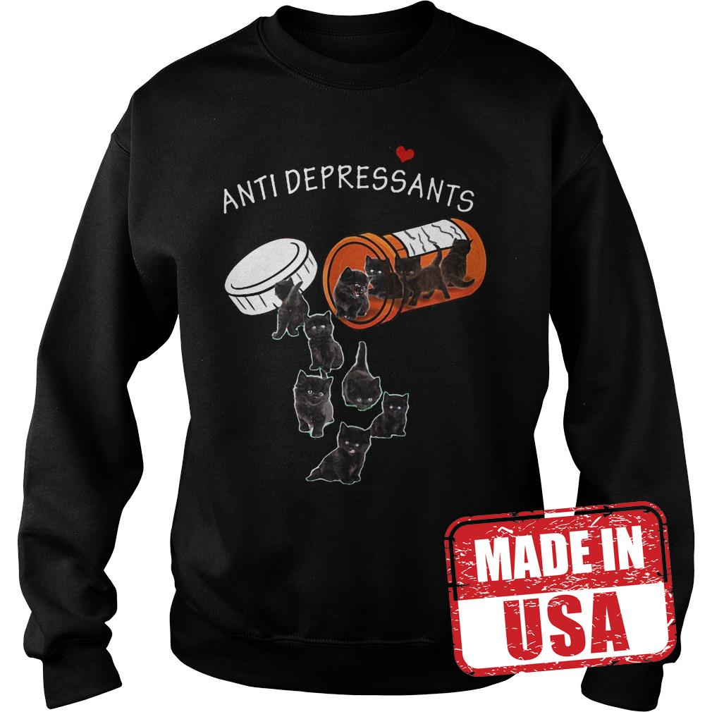Original Cat Pill Anti depressants Shirt Sweatshirt Unisex