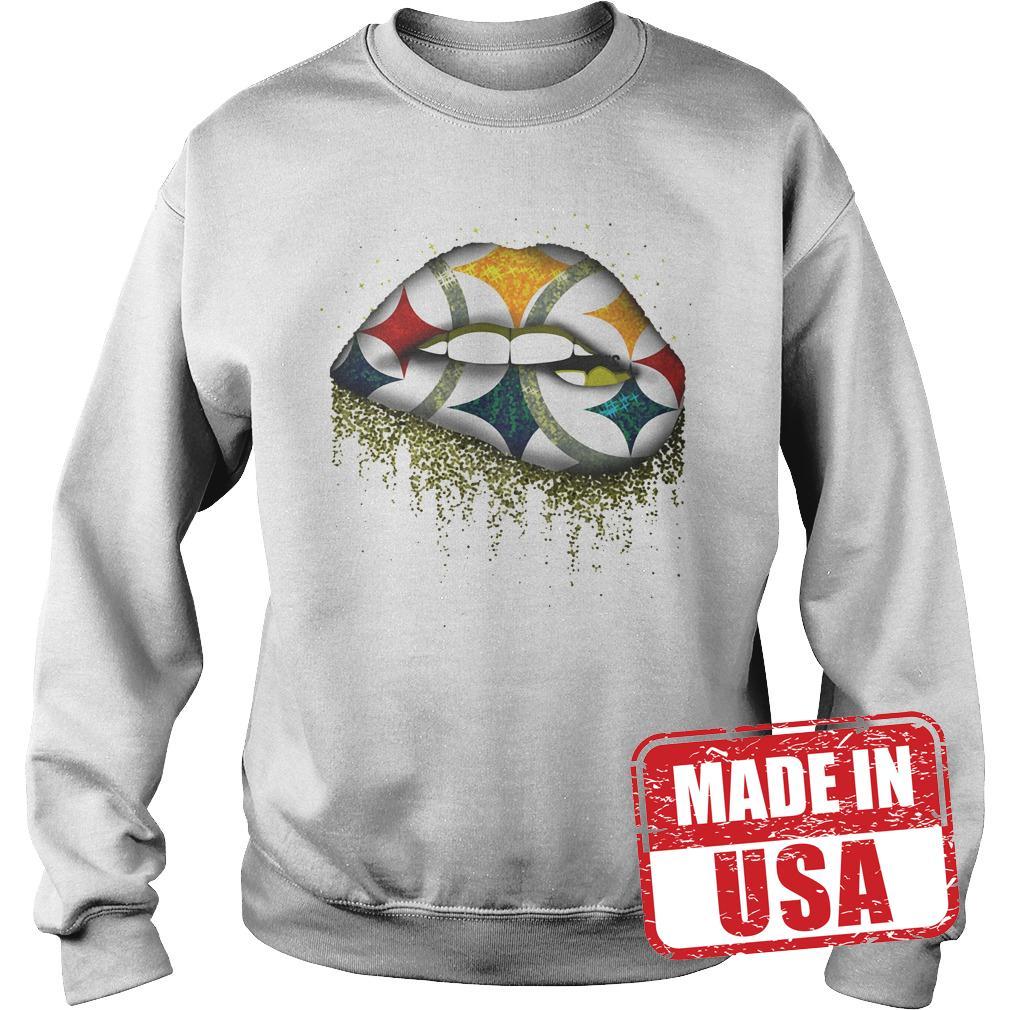 Original Pittsburgh Steelers Lips shirt Sweatshirt Unisex