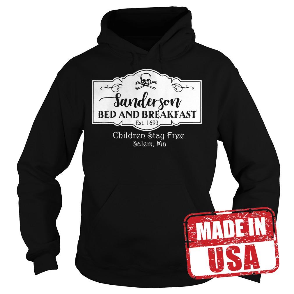 Premium Halloween Sanderson Bed And Breakfast shirt Hoodie