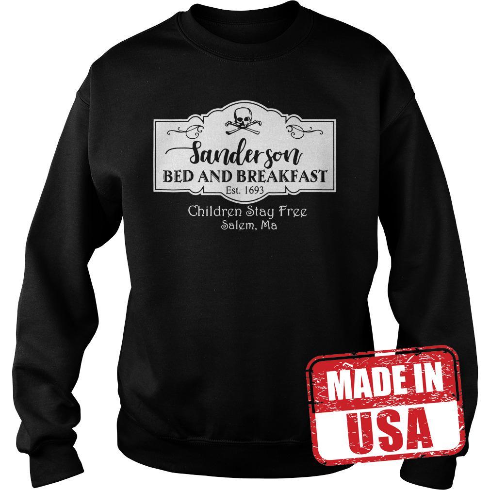 Premium Halloween Sanderson Bed And Breakfast shirt Sweatshirt Unisex