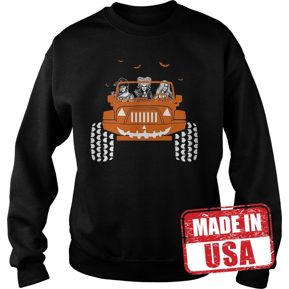 Premium Jeep Halloween Hocus pocus shirt Sweatshirt Unisex