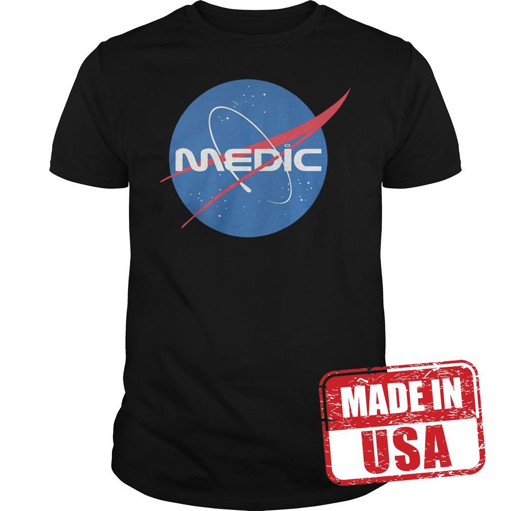 Premium Medic Space Force Shirt
