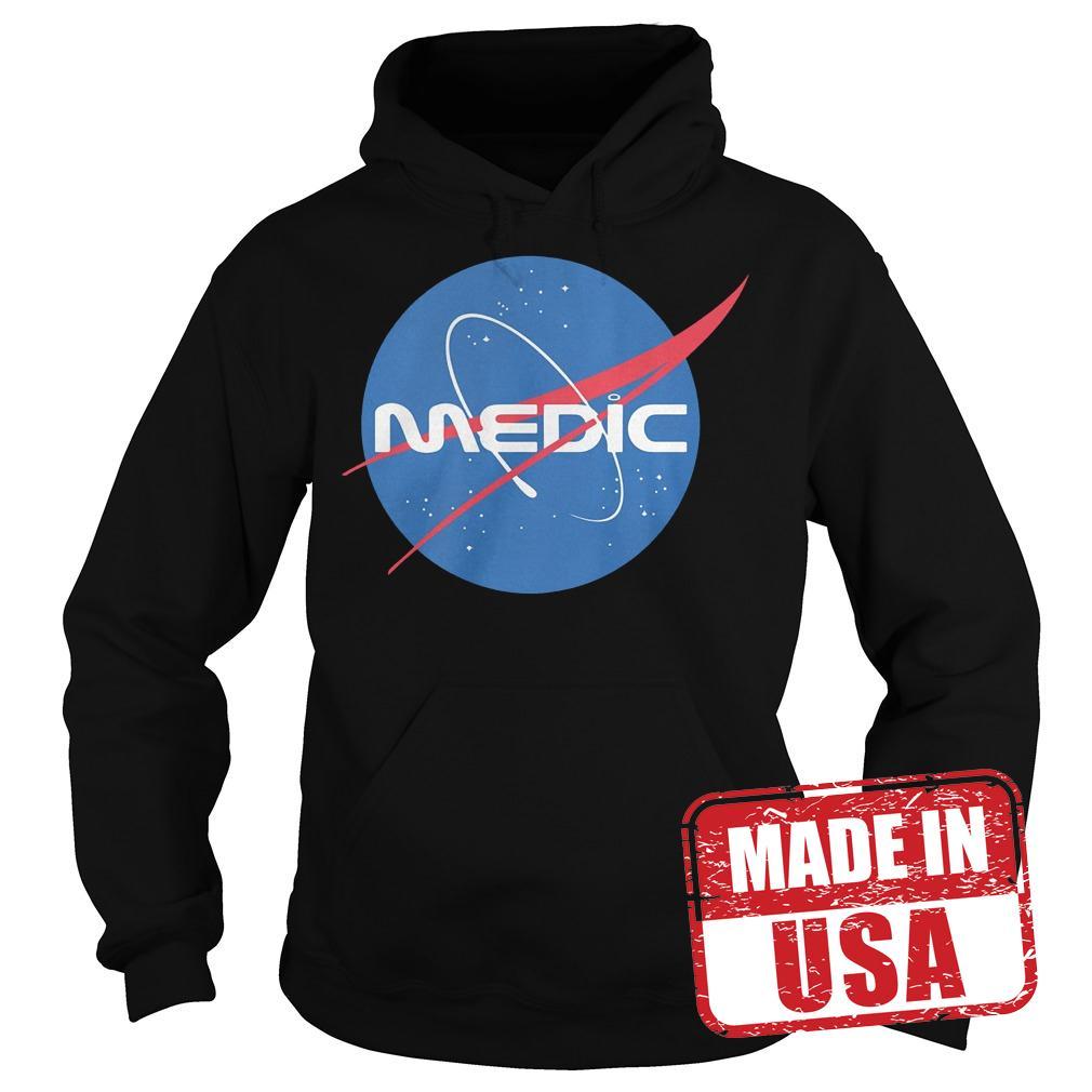 Premium Medic Space Force shirt Hoodie