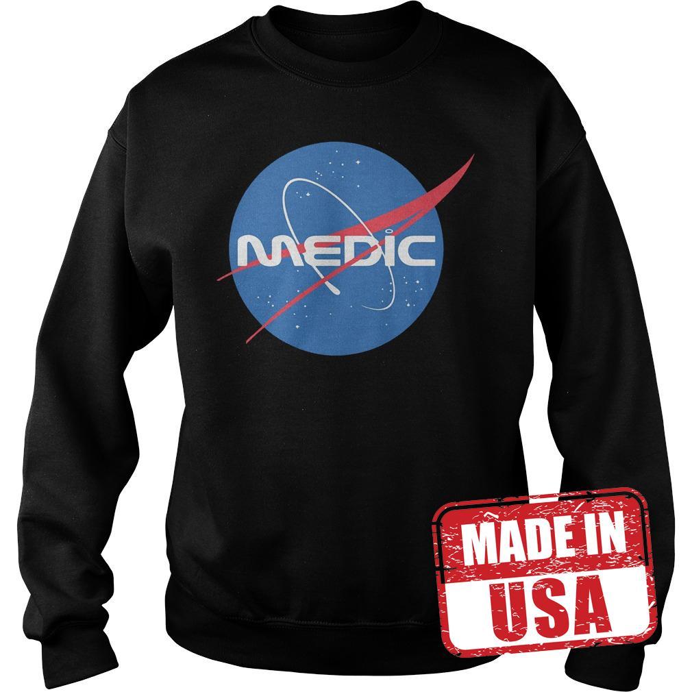 Premium Medic Space Force shirt Sweatshirt Unisex