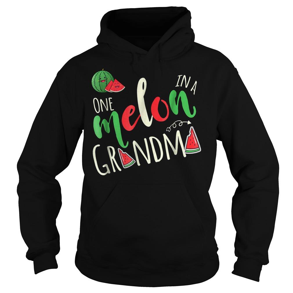 Premium One Melon In A Grandma T-Shirt Hoodie