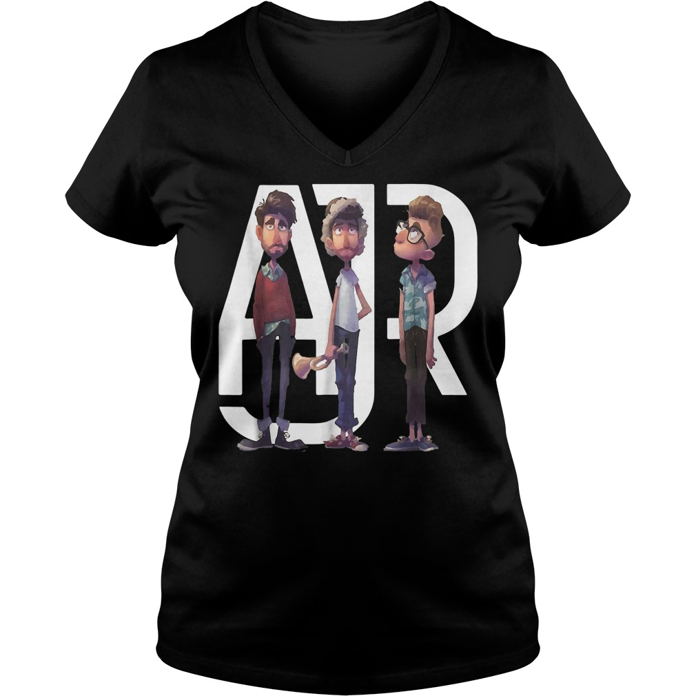 AJR the click tour 2018 shirt Ladies V-Neck