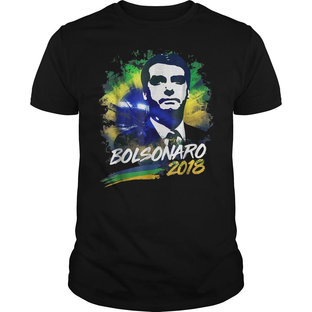 Bolsonaro 2018 Brazil presidente elections shirt