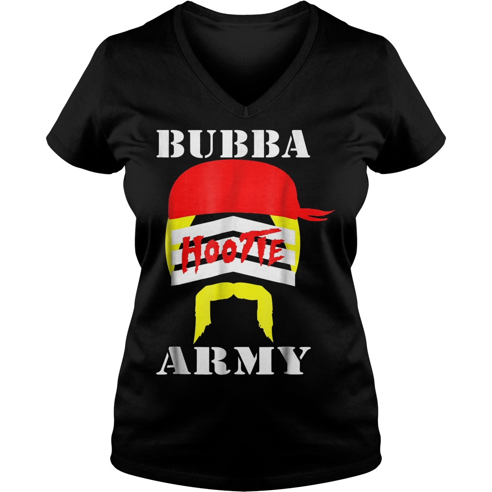 Bubba Army Hootie shirt Ladies V-Neck