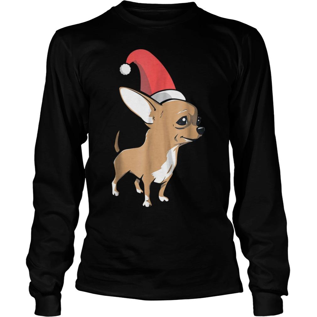 Chihuahua Christmas shirt Longsleeve Tee Unisex