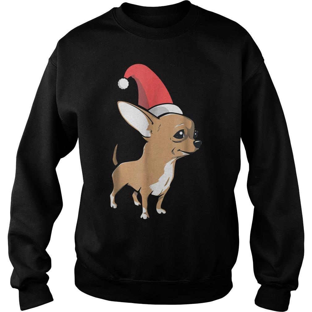 Chihuahua Christmas shirt Sweatshirt Unisex