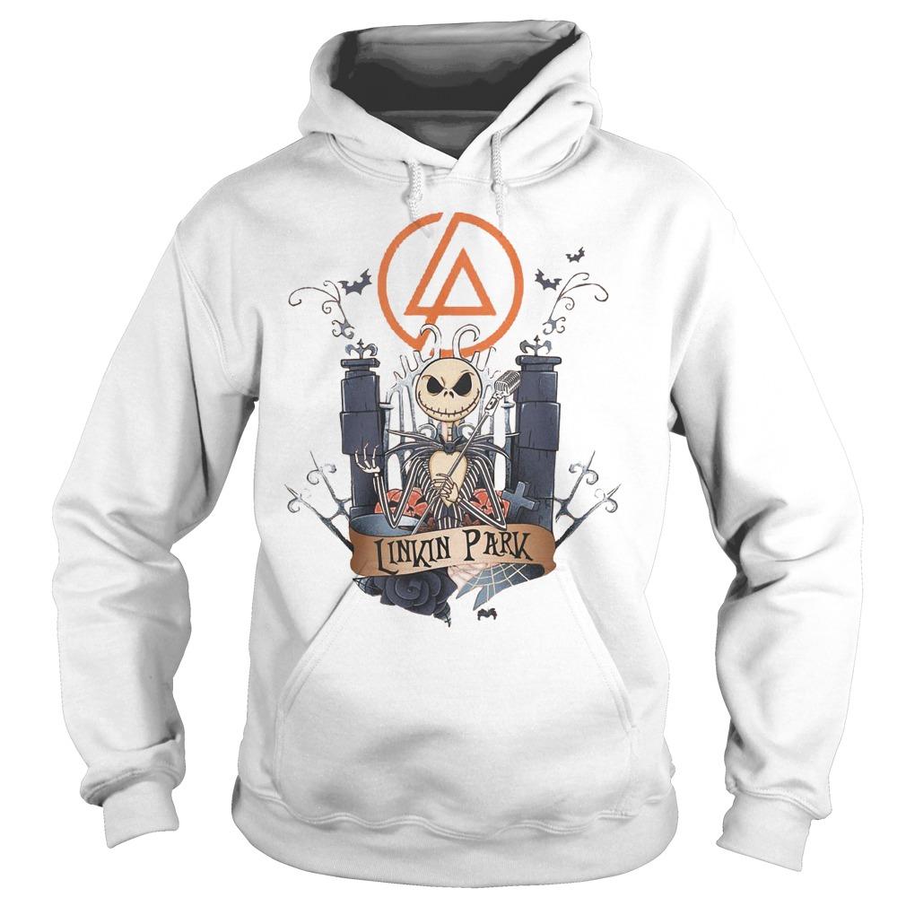 Jack skellington Linkin Park shirt Hoodie