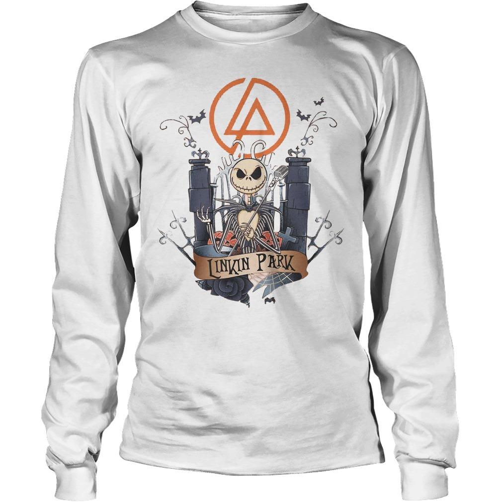 Jack skellington Linkin Park shirt Longsleeve Tee Unisex