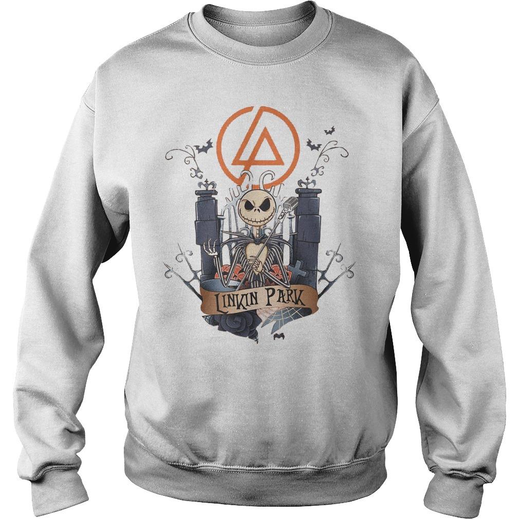 Jack skellington Linkin Park shirt Sweatshirt Unisex