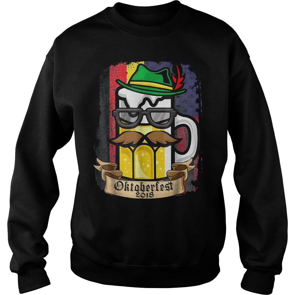 Vintage Oktoberfest 2018 German American shirt Sweatshirt Unisex