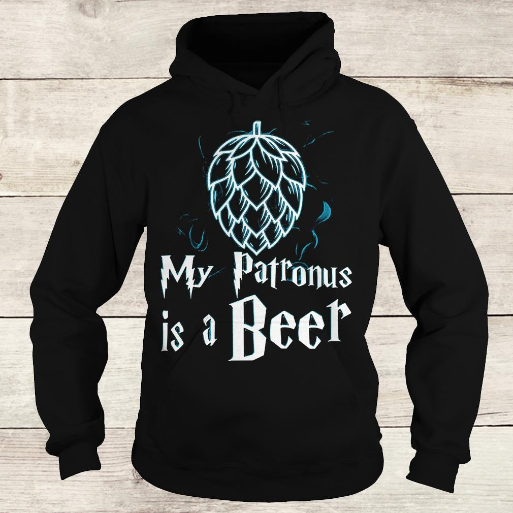 Best Price Christmas my patronus is a beer Shirt Hoodie