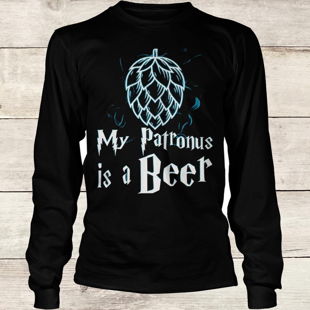 Best Price Christmas my patronus is a beer Shirt Longsleeve Tee Unisex