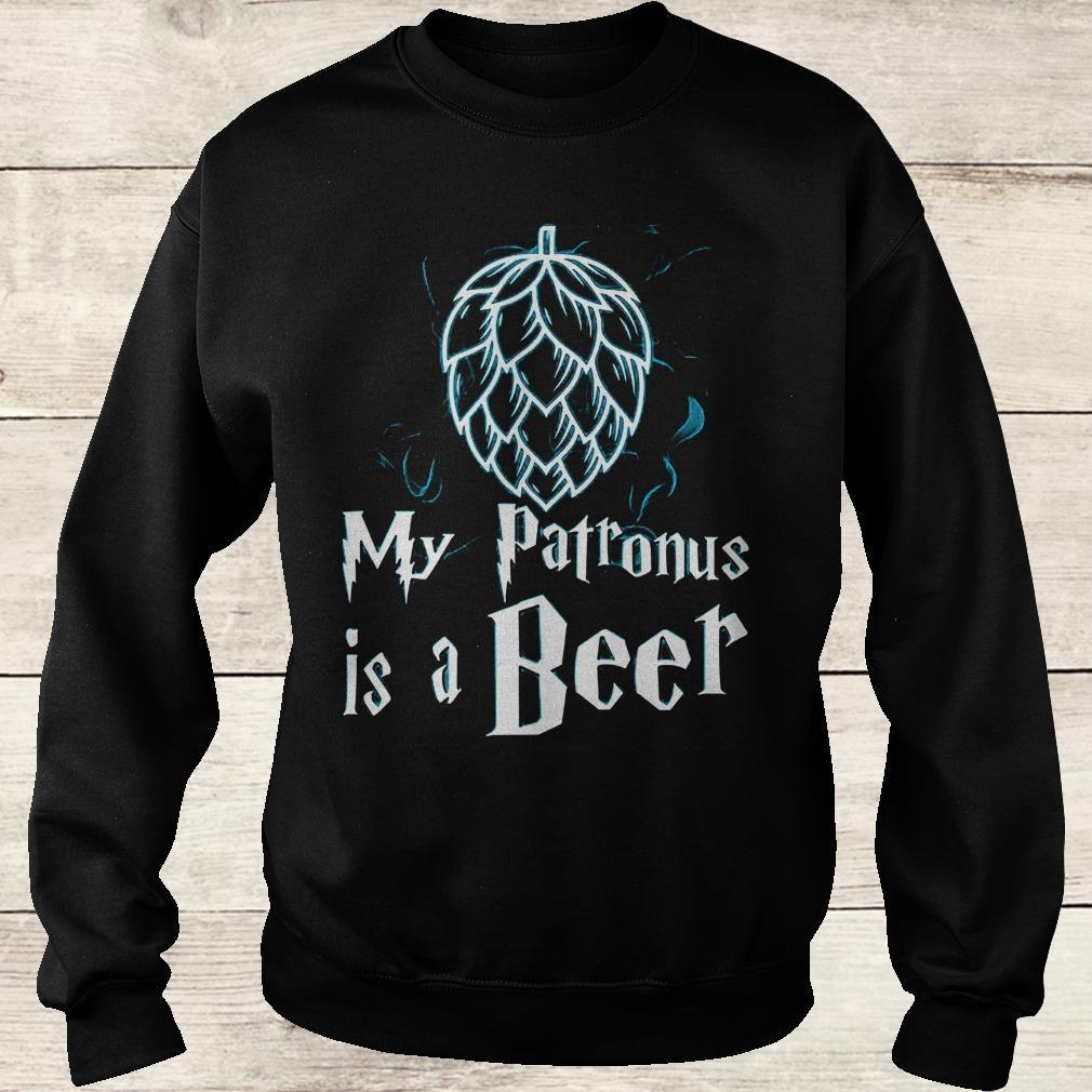 Best Price Christmas my patronus is a beer Shirt Sweatshirt Unisex