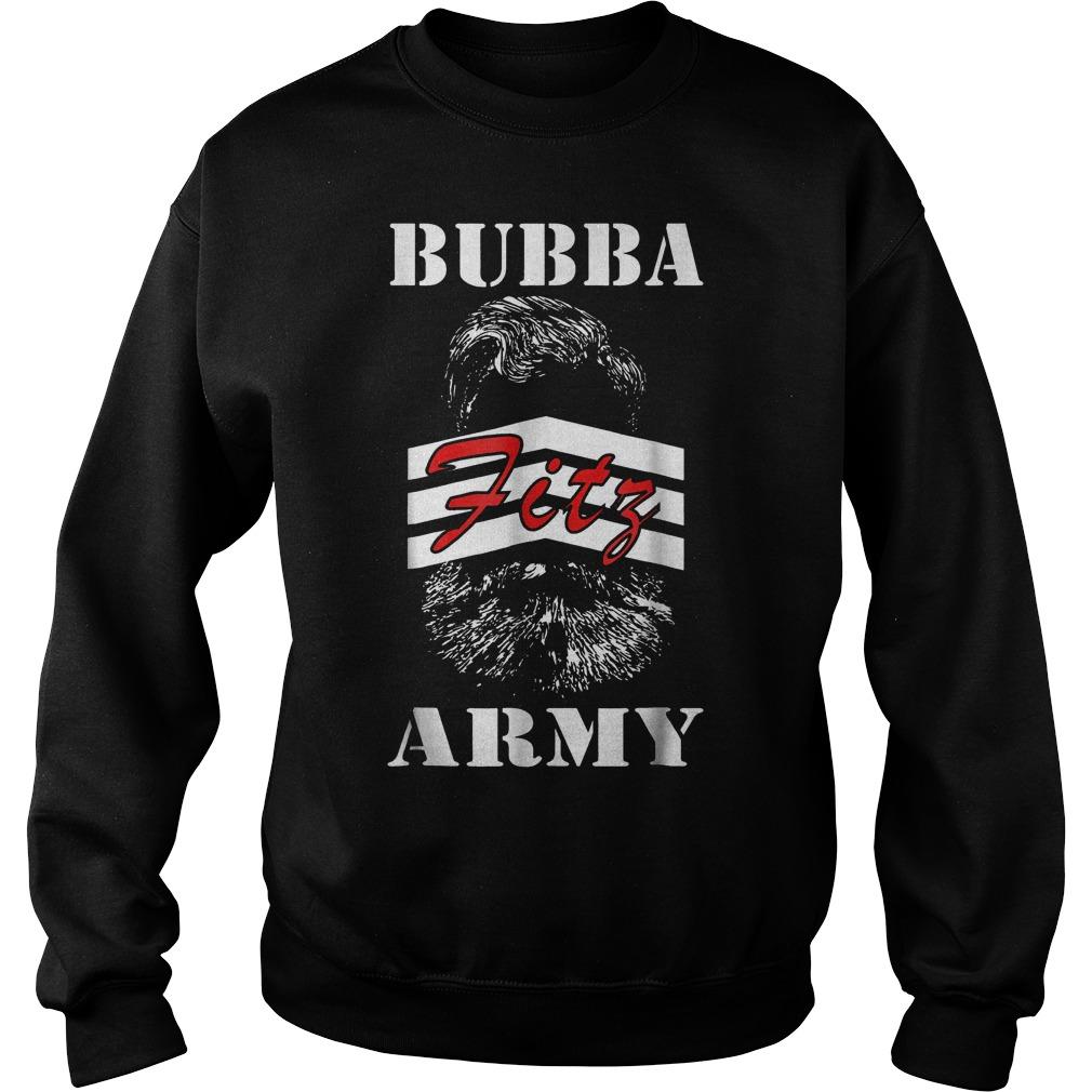 Bubba Army Fitz shirt Sweatshirt Unisex