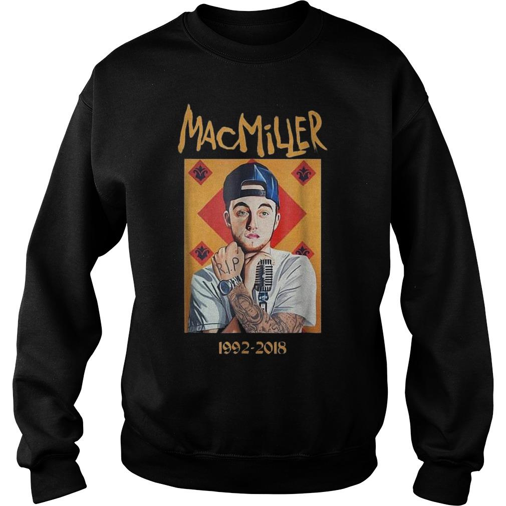 MacMiller 1992-2018 shirt Sweatshirt Unisex