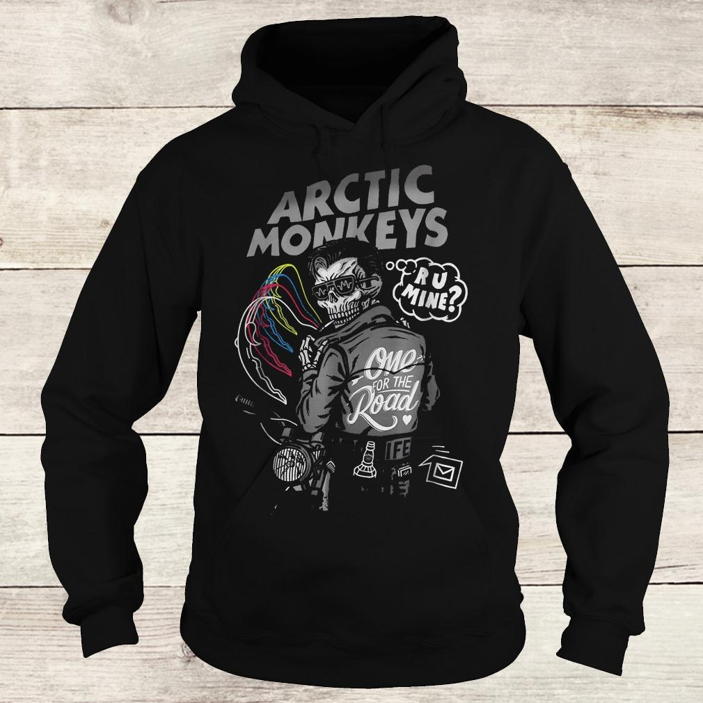Official Arctic monkey one for the road shirt Hoodie