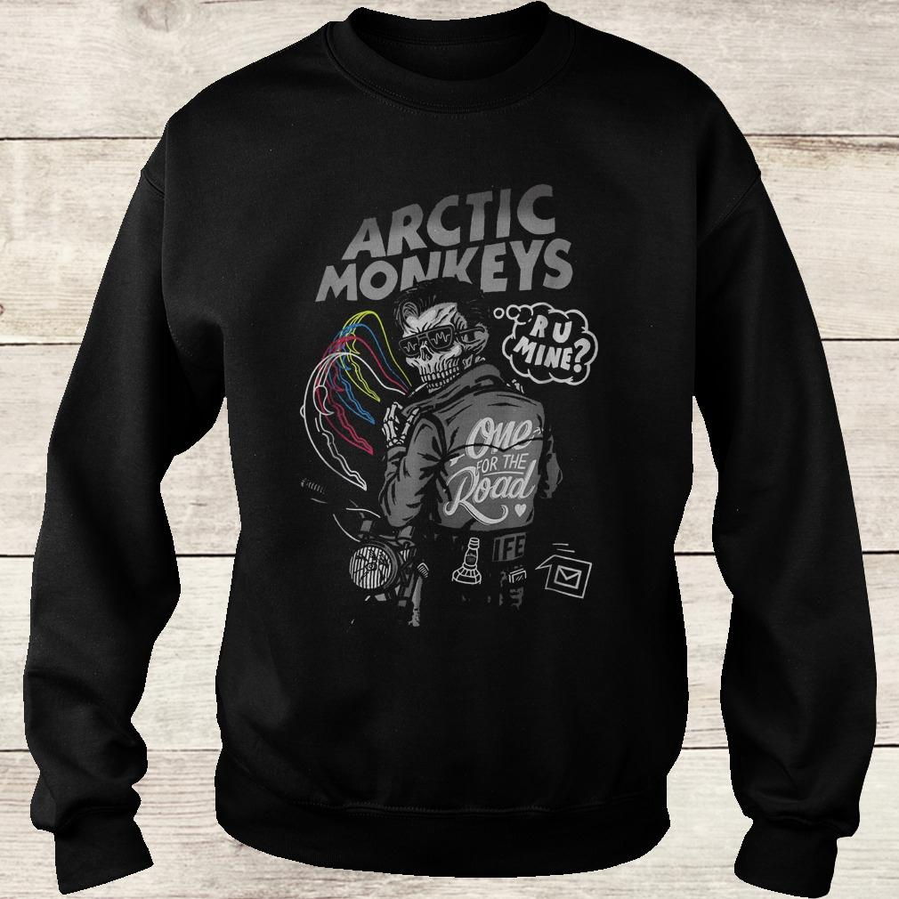 Official Arctic monkey one for the road shirt Sweatshirt Unisex