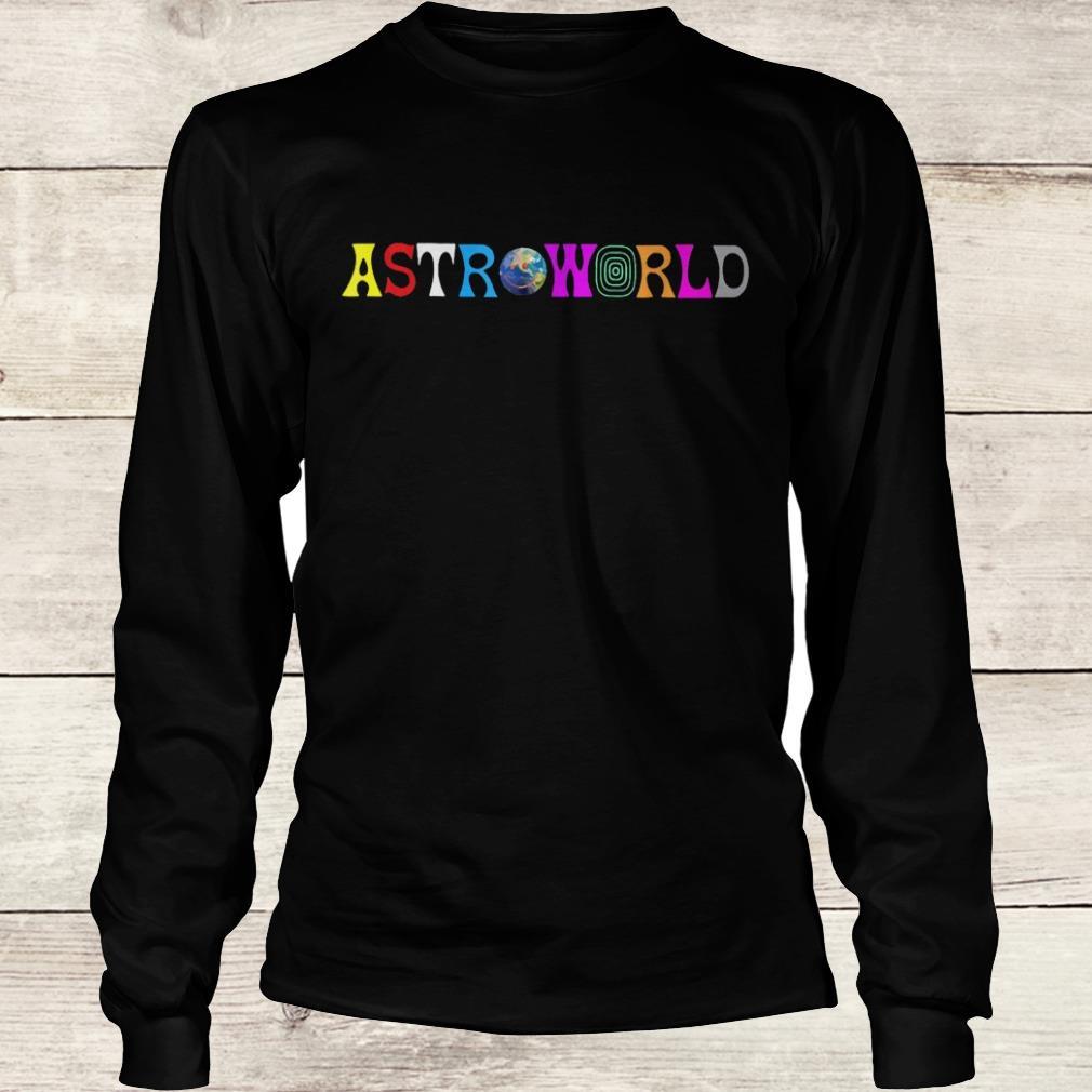 Official Astroworld shirt Longsleeve Tee Unisex