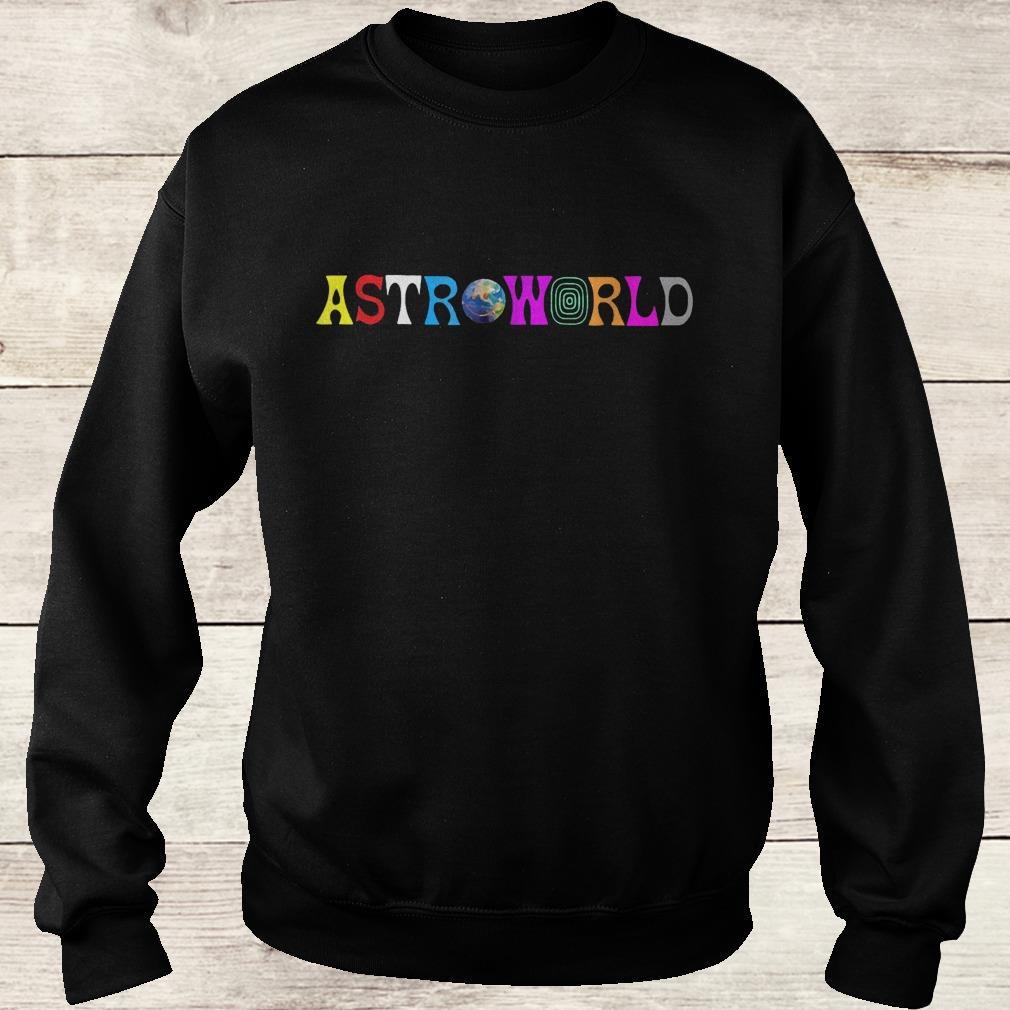 Official Astroworld shirt Sweatshirt Unisex