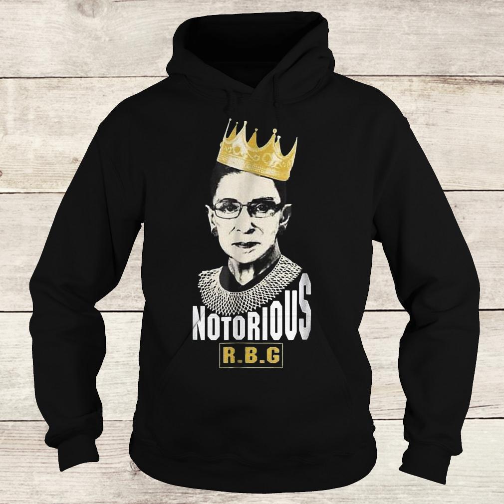 Original Notorious RBG Ruth Bader Ginsburg Shirt Hoodie