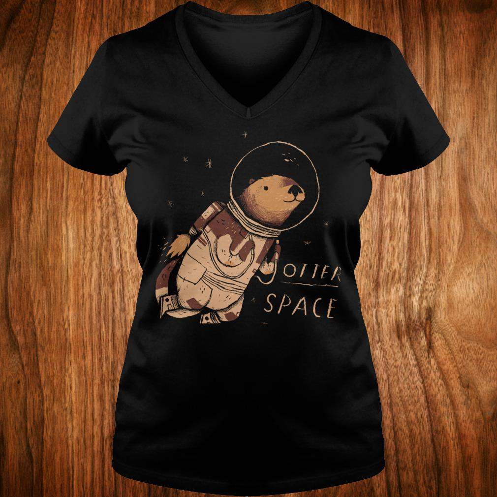Otter space Shirt Ladies V-Neck