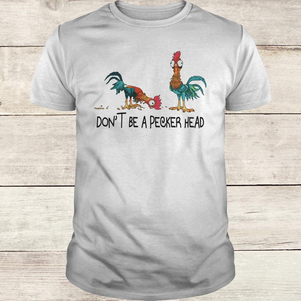 Premium Heihei don't be a pecker head shirt Classic Guys / Unisex Tee