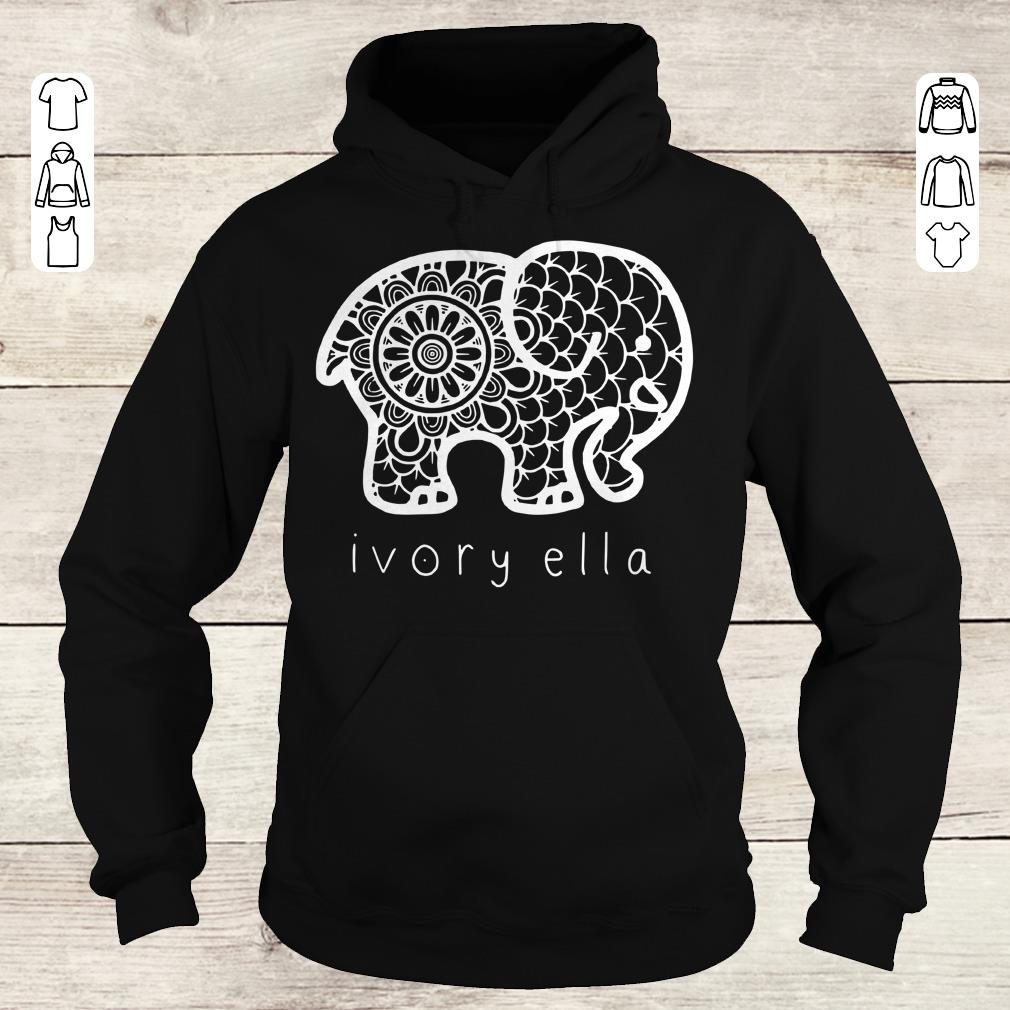 Nice Ivory ella elephant shirt Hoodie