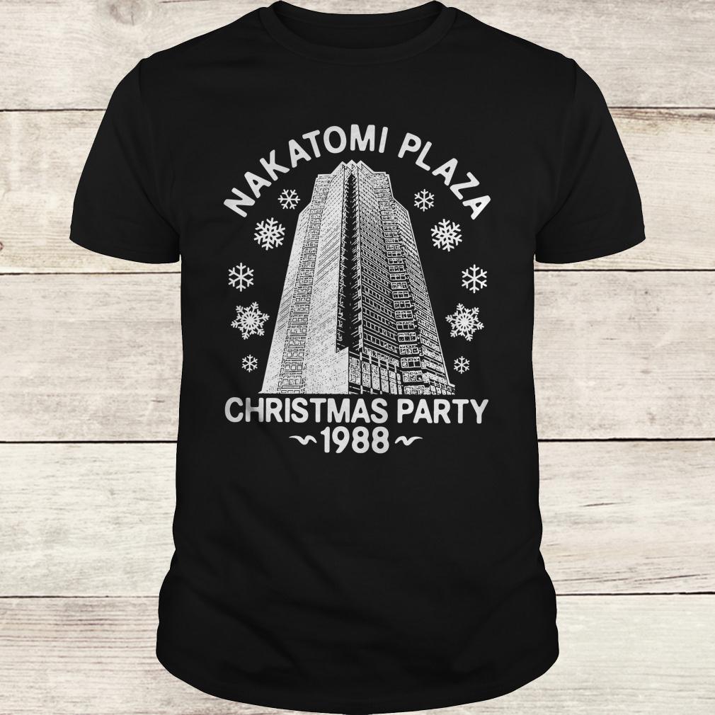 Original Nakatomi plaza christmas party shirt Classic Guys / Unisex Tee