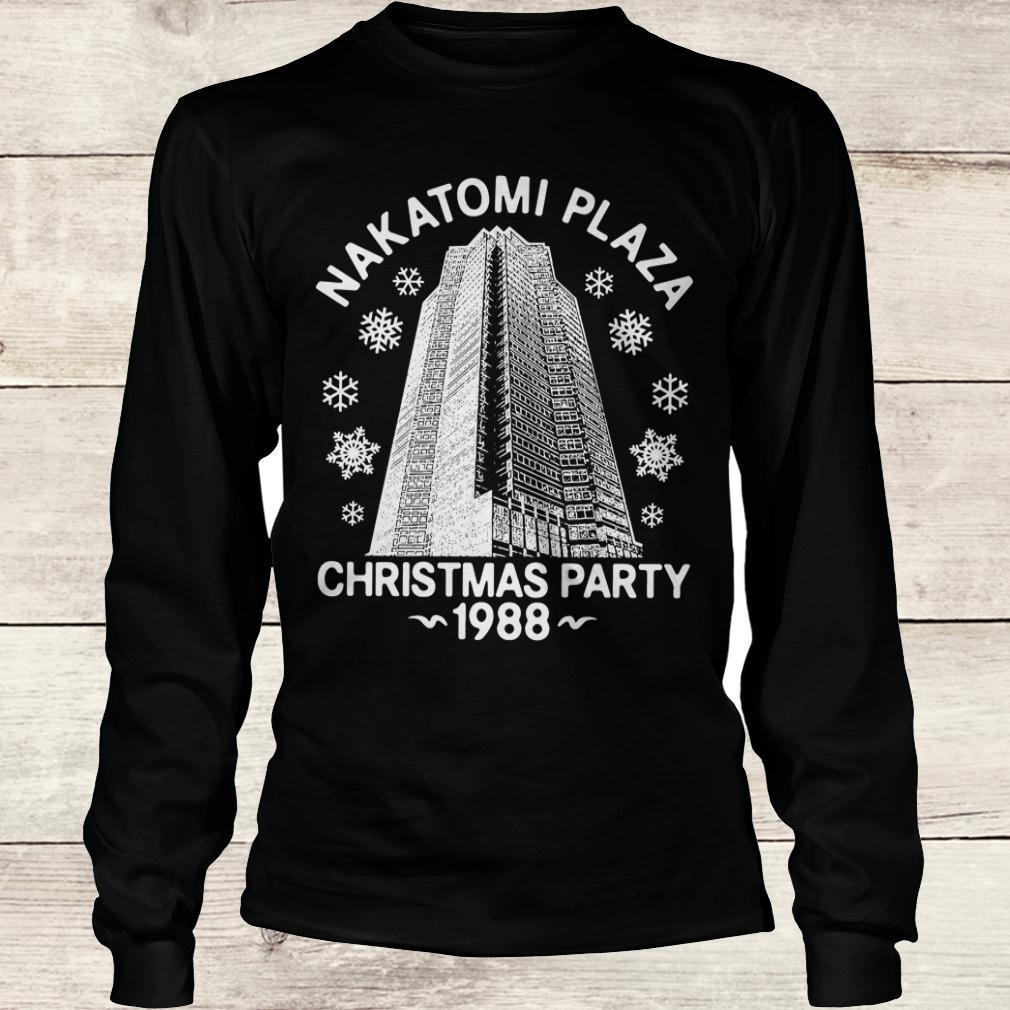 Original Nakatomi plaza christmas party shirt Longsleeve Tee Unisex