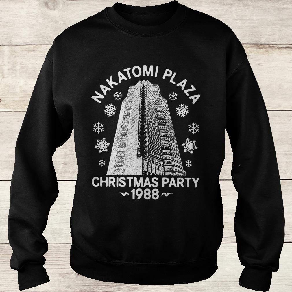 Original Nakatomi plaza christmas party shirt