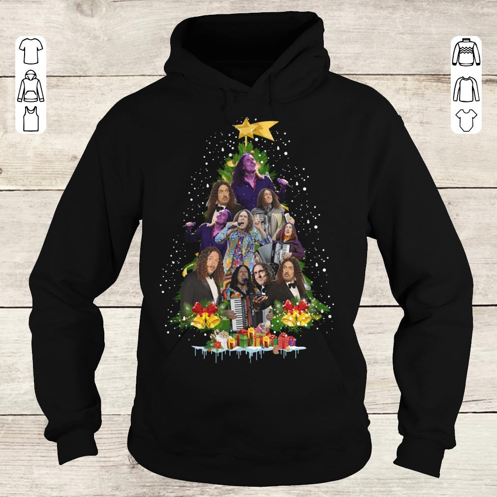 Original Weird Al Yankovic Christmas tree shirt Hoodie