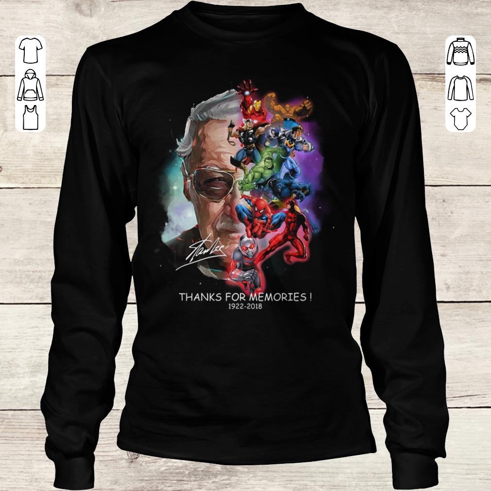 Premium Stan Lee Father Of Marvel shirt Longsleeve Tee Unisex