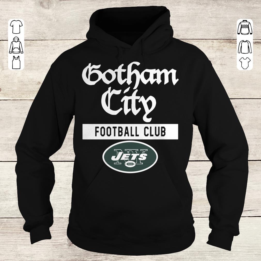 Pretty New York Jets Gotham City Football club shirt Hoodie