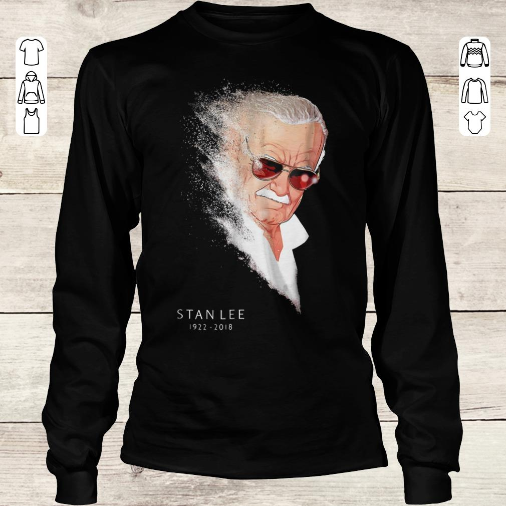 Pretty Stan Lee Infinity War Thanos Disintegration shirt Longsleeve Tee Unisex