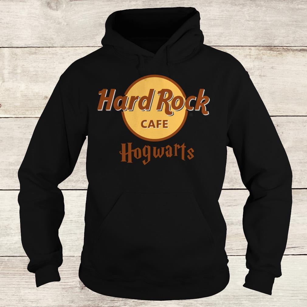 The best Harry Potter hard Rock cafe Hogwarts shirt Hoodie