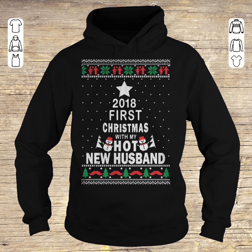 Good 2018 first christmas with my hot new husband Hoodie