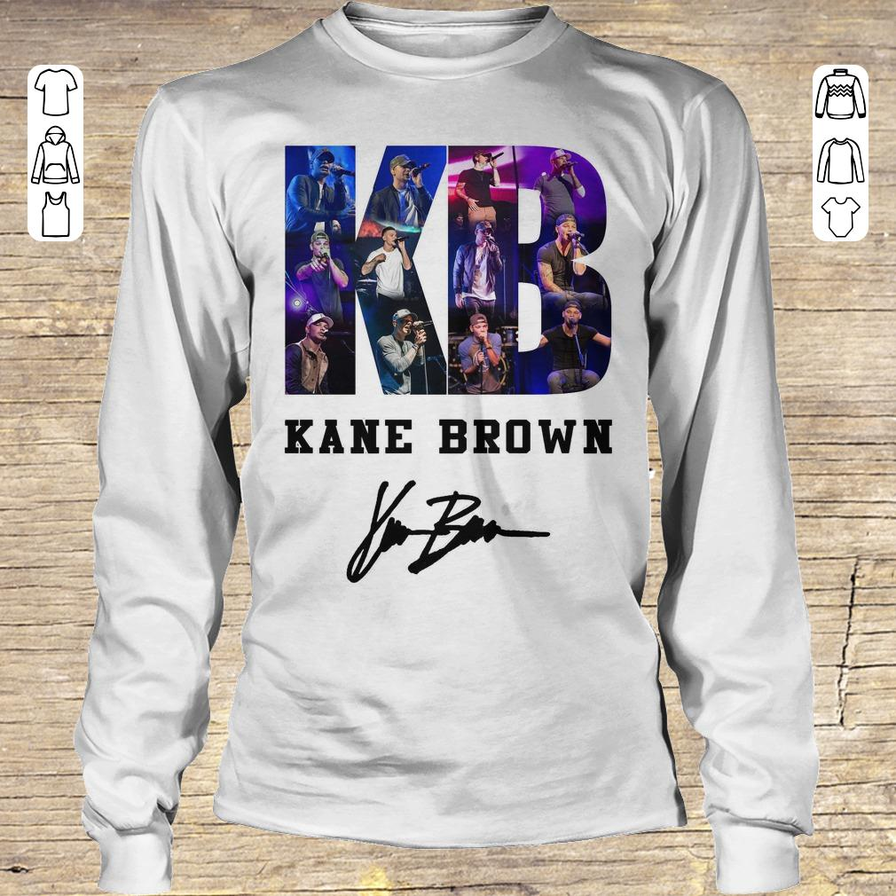 Greatest Kane Brown Signed Autograph shirt Longsleeve Tee Unisex