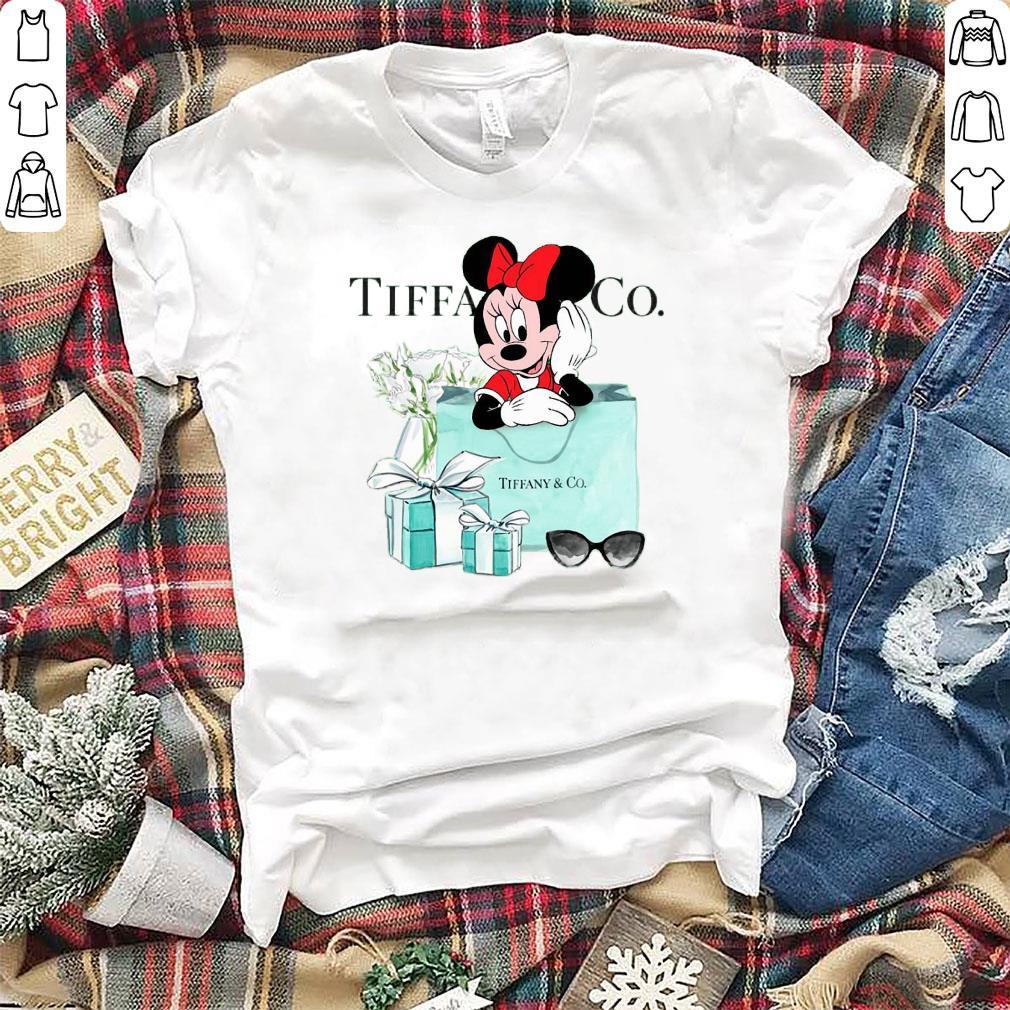 ba1bd317f Top Minnie Mouse Tiffany & CO shirt, hoodie, sweater, longsleeve t-shirt