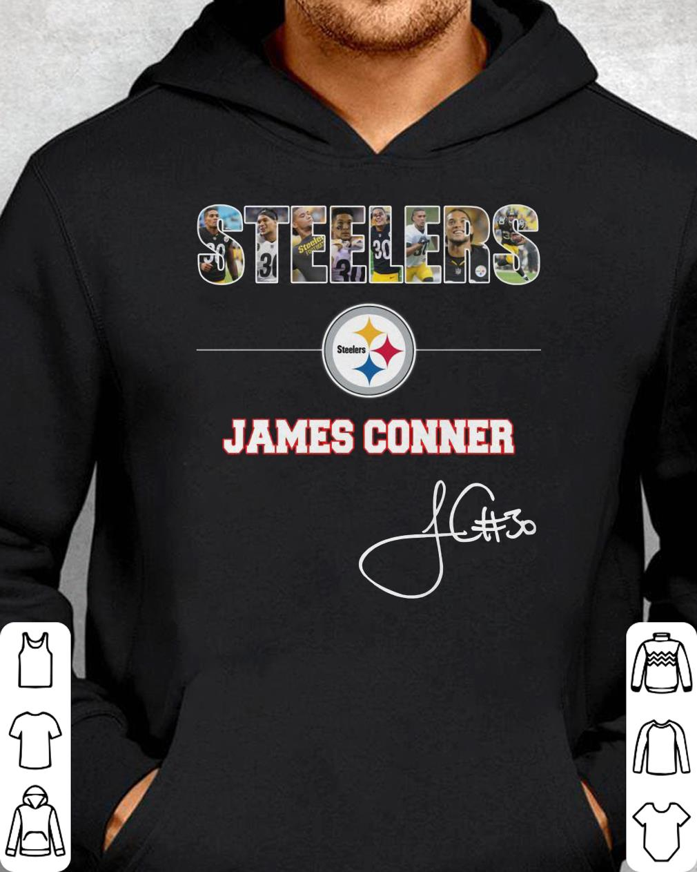 b1abbedc5c2 Premium Trending Christmas Presents Who Love: Steelers, James Conner,  Signature