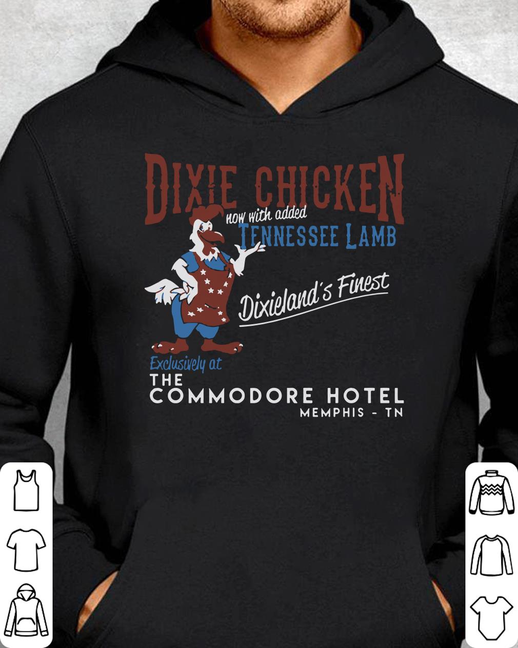 Christmas In Dixie Shirt.Premium Dixie Chicken Now With Added Tennessee Lamb Dixieland S Finest Exclusively The Commodore Hotel Shirt