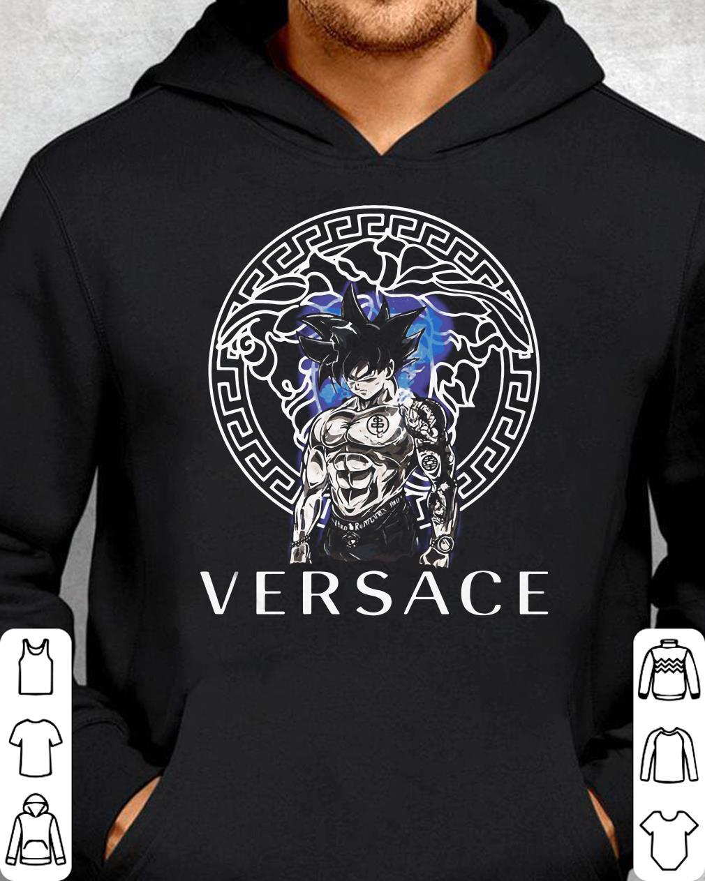 58e17848 Dragon Ball Super Son Goku Ultra instinct Versace shirt, hoodie, sweater  sweatshirt, long-sleeve For Men and Women