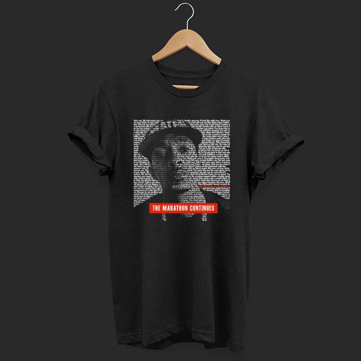 Rip Nipsey Hussle The Marathon Continues shirt