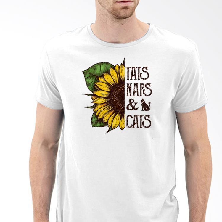 d4cf9582 Sunflower Tats Naps And Cats shirt, hoodie, sweater, longsleeve t-shirt